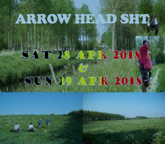 Uitnodiging Arrow Head 2018